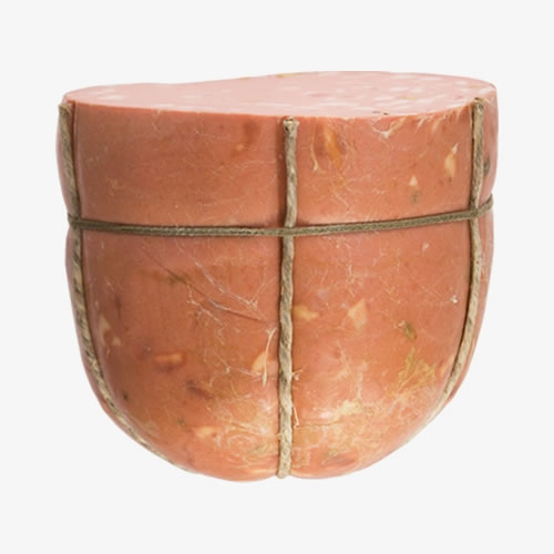 Half Mortadella without pistachios 6,5/7,5 Kg vacuum packed